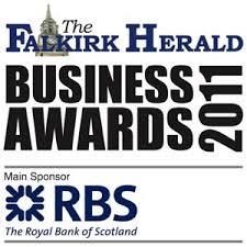 Scott Direct win Falkirk Business Award