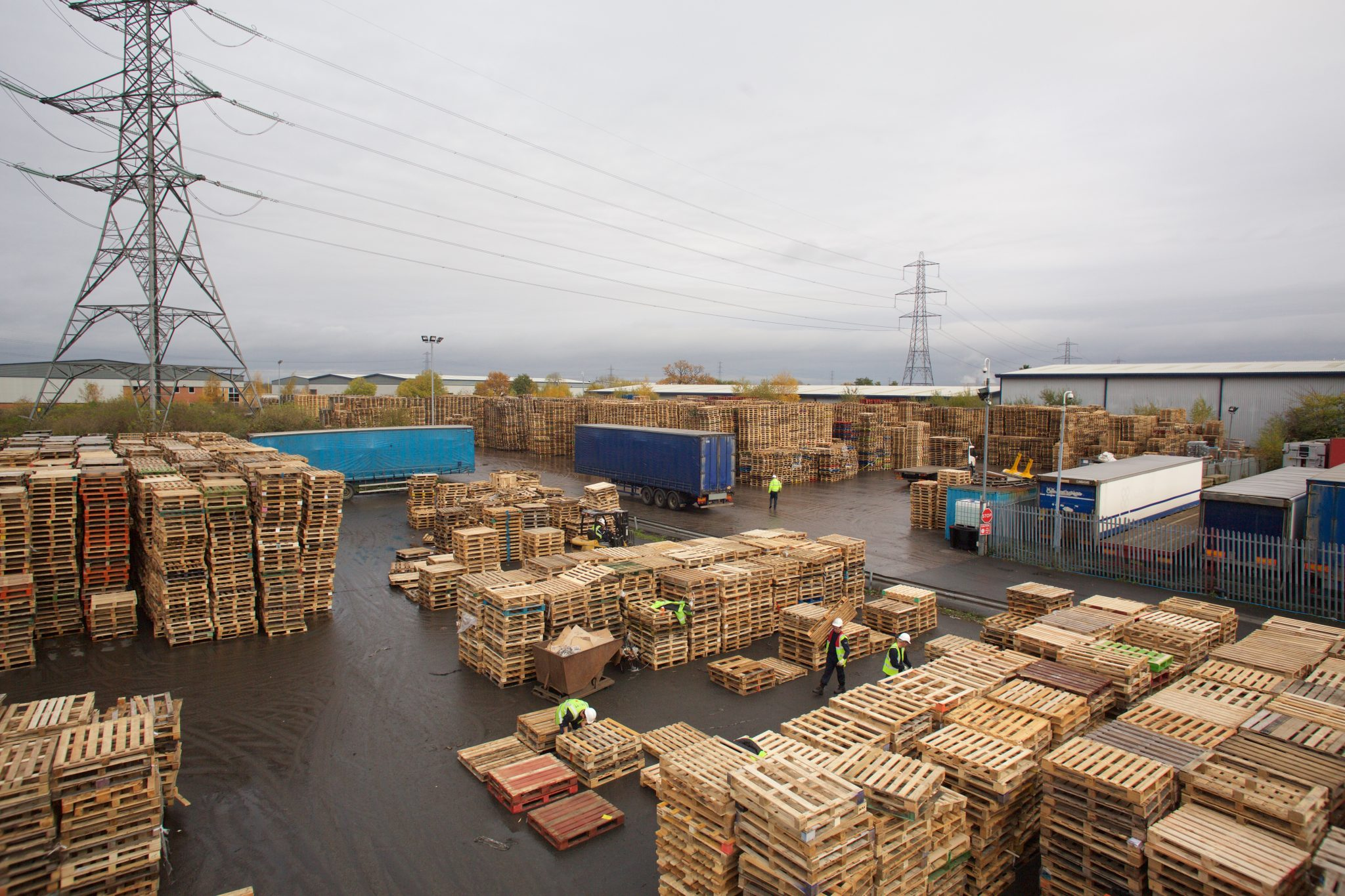 Recon pallets complement sustainable pallet solutions