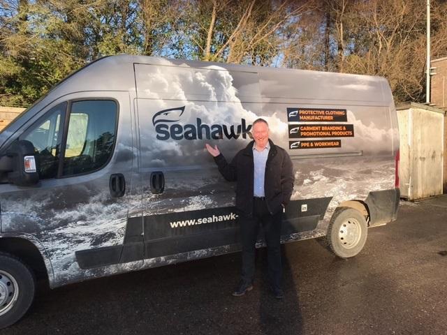Seahawk spreads its wings
