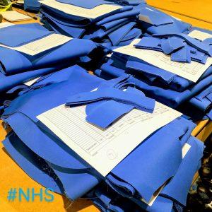 NHS scrub sets
